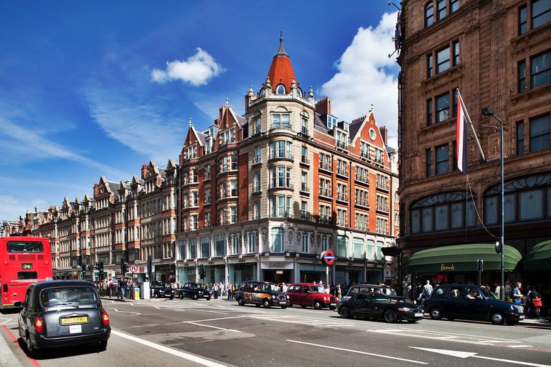 79 Brompton Road building, London, England, United Kingdom