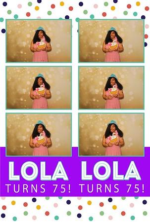 Lola's 75th Bday 6-15-19