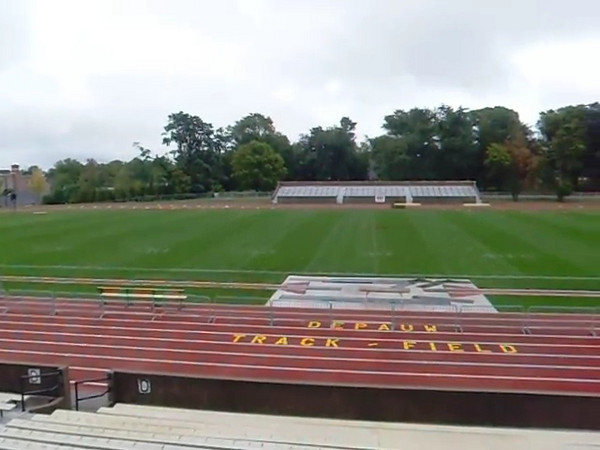 DePauw 400m Outdoor Track Facility