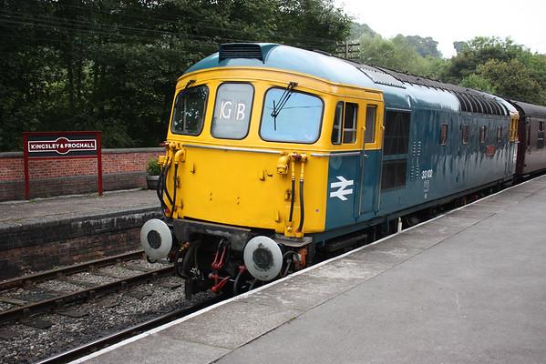 33102 - Churnet Valley Railway, 6th September 2014