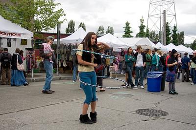Fremont Street Fair Seattle WA 2011