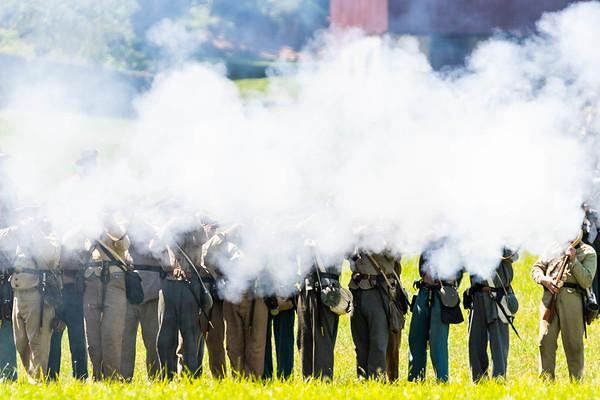 Waynesboro Civil War Reenactment at Renfrew Park
