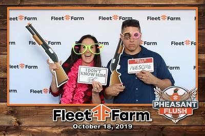 10-18-19 Fleet Farm Pheasant Flush