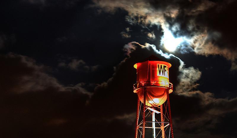 WF Lofts in Full Moon  http://sillymonkeyphoto.com/2011/03/13/wf-lofts-in-full-moon/