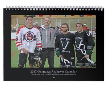 2017 Onondaga Redhawks Calendar (photos from LASNAI2016)