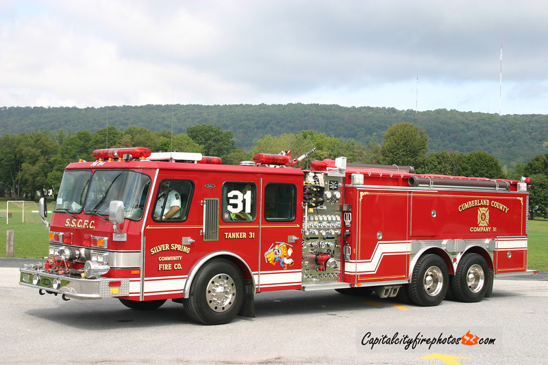 Silver Spring Tanker 31: 1993 E-One Cyclone 1500/2500