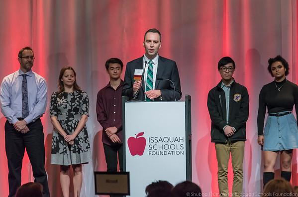 Issaquah Schools Foundation Luncheon 2018