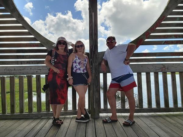 SC, Port Royal - Henry Robinson Boardwalk