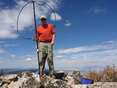 Adams Peak (W6/NS-158) SOTA Activation 9/12/2013