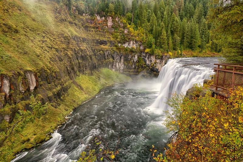 Viewing Mesa Falls