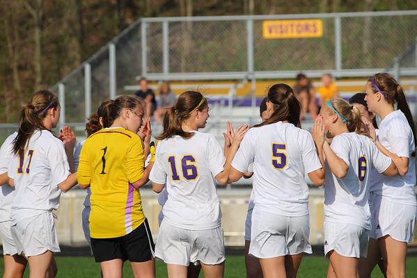 Soccer vs. Lansing Chr. - 5/9/14 - KCHS Girls