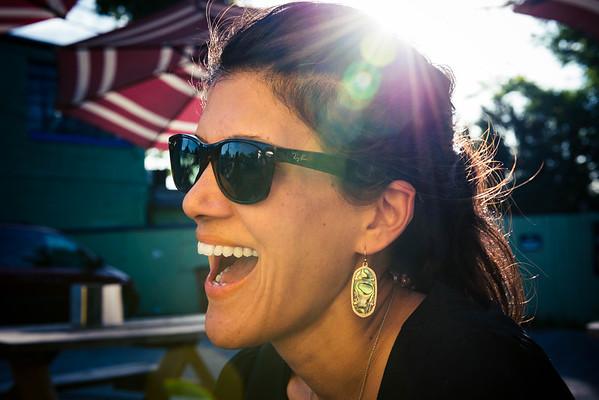Laughing Natasya
