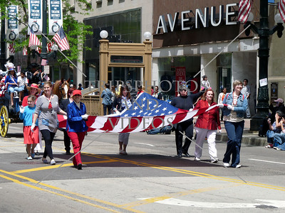 Memorial Day Parade 2014 in Chicago