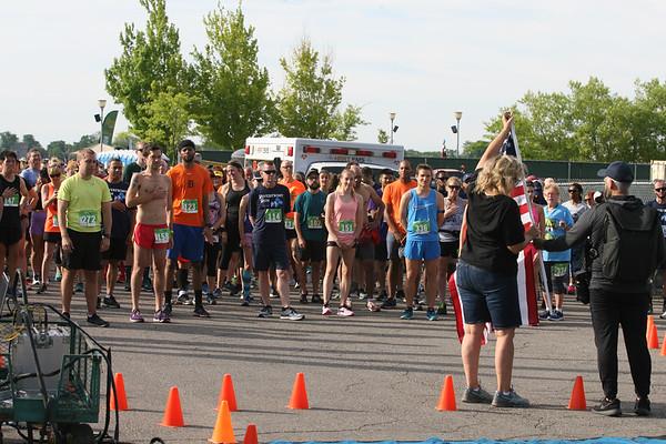 Riverfront Run 8 Jun 2019 10k Start