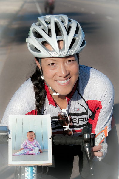 Cycling for Her Neice (Cystic Fibrosis Foundation  Cycle for Life)