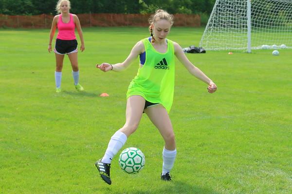 WUHS Girls Soccer, Preseason 2017