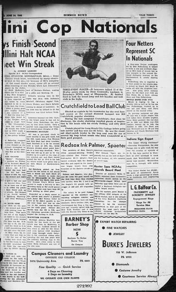 Summer News, Vol. 1, No. 1, June 24, 1946