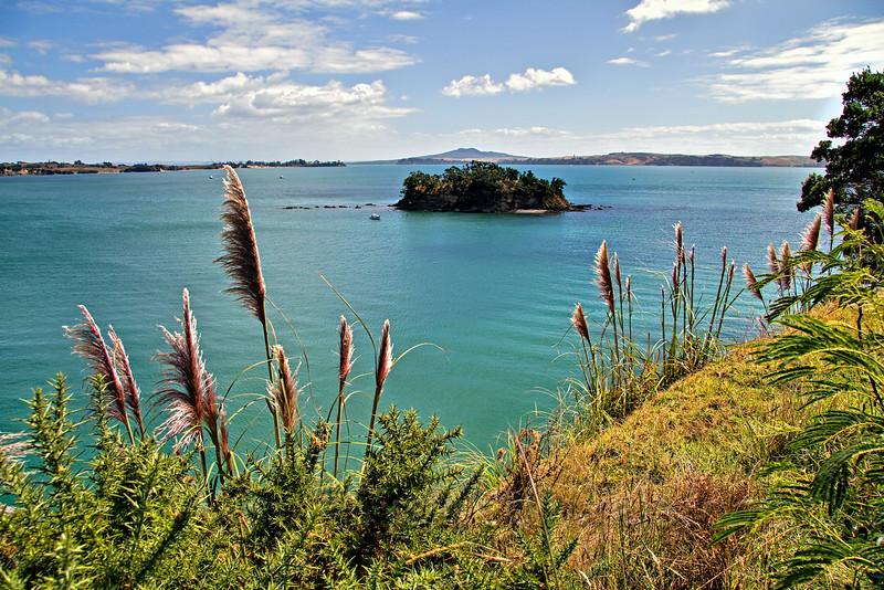 Motukaha Island in Church Bay