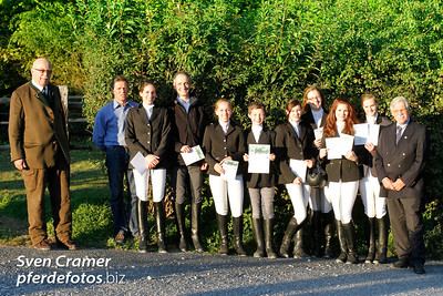 2011-10-22 - Prüfung für das Reitabzeichen - Gut Lohof