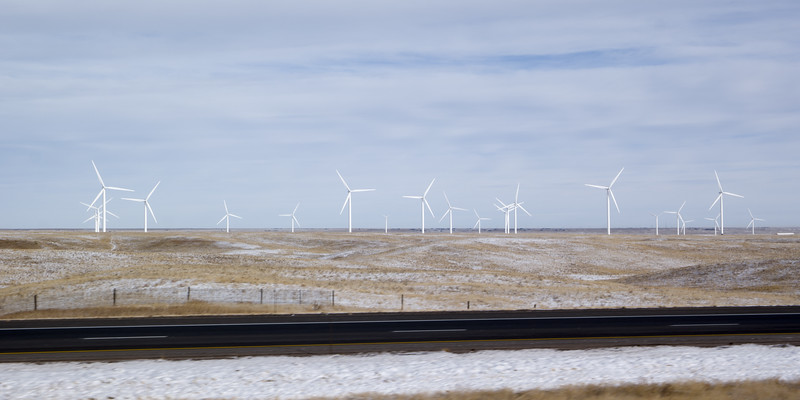 Wind Electric Power in Wyoming