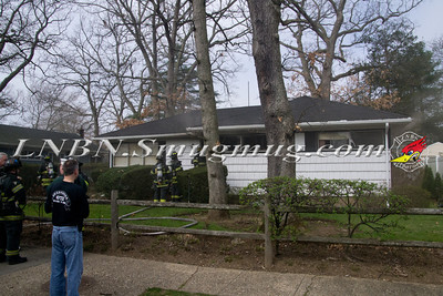 East Meadow F.D. House Fire 1477 Prospect Ave 3-22-12