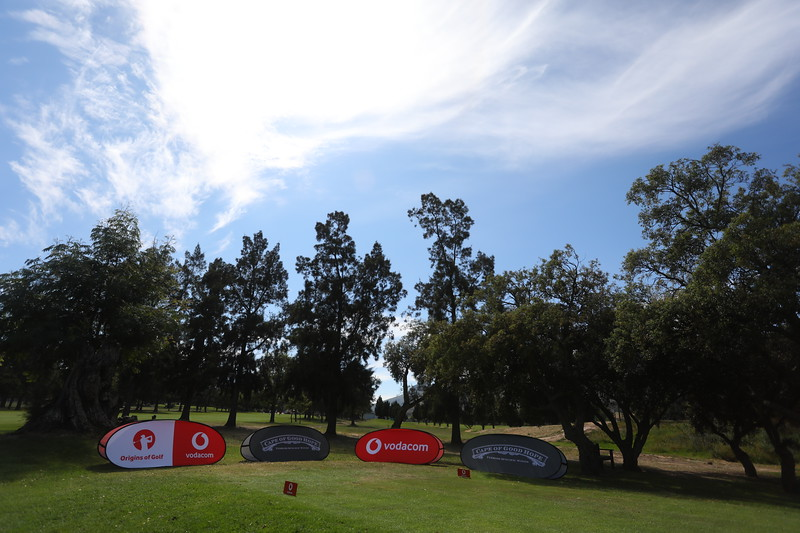 STELLENBOSCH, SOUTH AFRICA - OCTOBER 2: Hole 16 during the held at Stellenbosch Golf Club on October 2, 2018 in Stellenbosch, South Africa. EDITOR'S NOTE: For free editorial use. Not available for sale. No commercial usage. (Photo by Carl Fourie/Sunshine Tour)