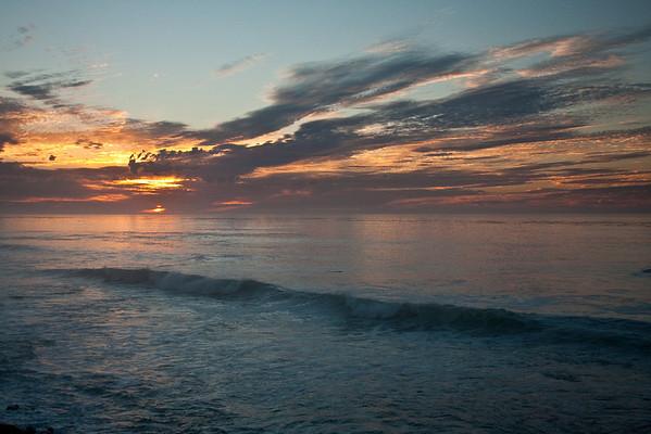 Colorful Sunset at La Jolla Cove 9.29.10