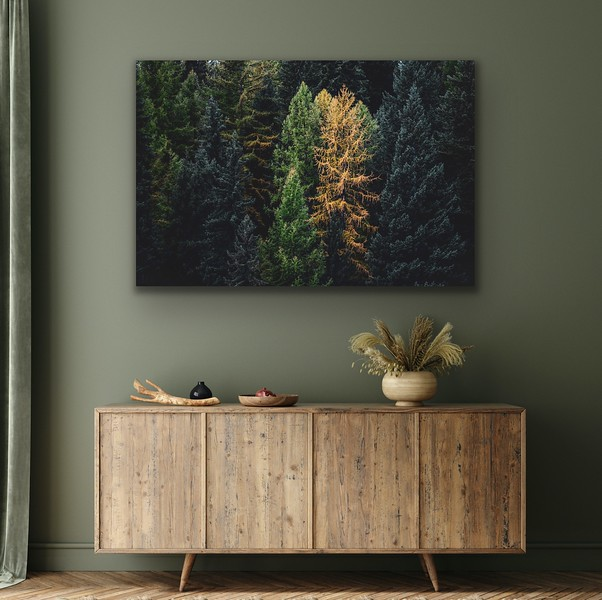 'Becoming  Golden' Canvas Wrap or Float Mount Metal Print