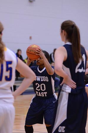 Oswego East Girls Varsity Basketball Vs ACC (OE Holiday Classic 2013)