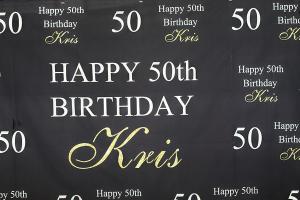 Kris B's 50th Birthday Celebration  (Part 1)