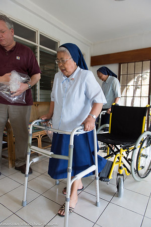 Wheelchair, Walkers, and Canes Delivery to the Assisted Living Convent