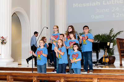 Children's Sunday School and Choir May 2019