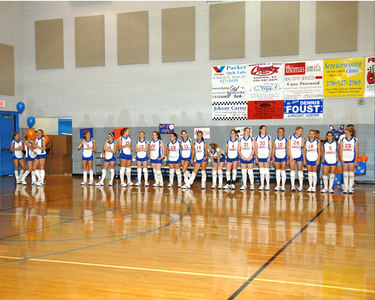 "Marshall County Volleyball Senior ""Night"" - October 7, 2006."