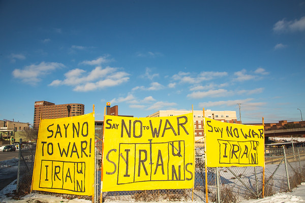 No War On Iran - Jan 4