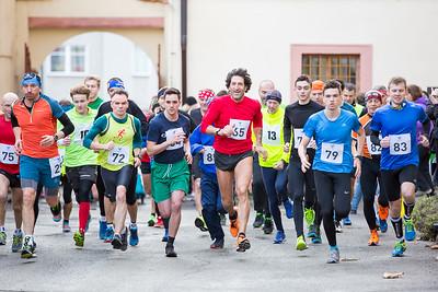 Silvestrovský běh 2017 - Lysá nad Labem