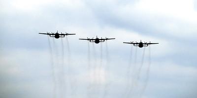 Landing Hercules C130 21 juli 2012