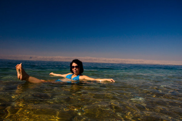Started day out at @MoevenpickJo with a dip in the Dead Sea, you really do feel like a buoy                #VisitJordan