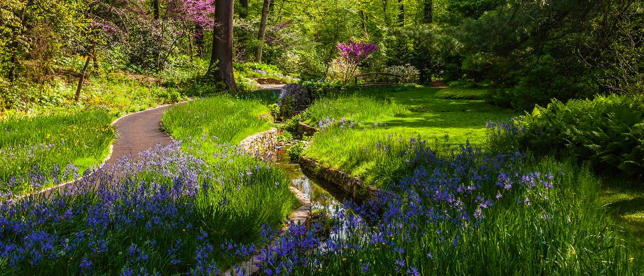 Chanticleer花园,春天气象