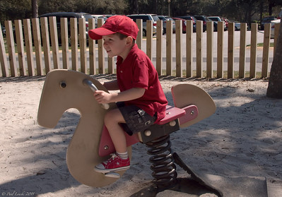 Paul's Fourth Year -- Harbour Town Playground