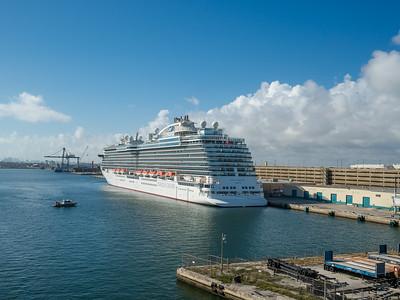 0208 Fort Lauderdale - Royal Princess (at sea) - Return Home