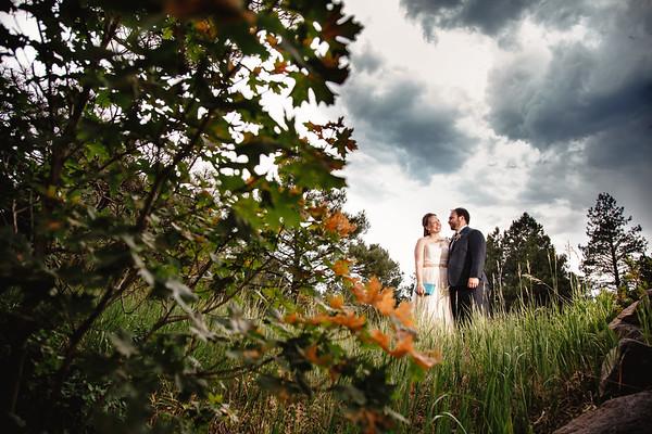 Megan and Mike   Flagstaff Arboretum