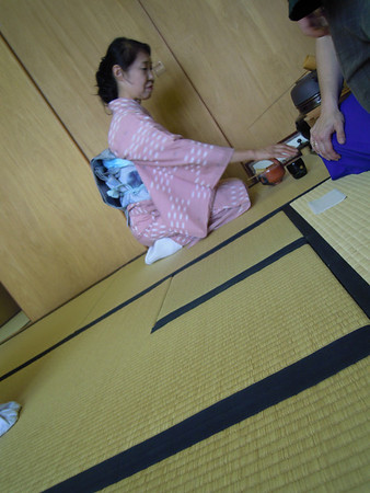 Cultural Activity:  Tea Ceremony