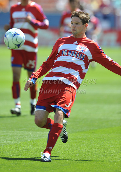 29, March 2009:  FC Dallas midfielder Drew Moor #3in action during the soccer game between FC Dallas & Chivas USA at the Pizza Hut Stadium in Frisco,TX. Chivas USA  beat FC Dallas 2-0.Manny Flores/Icon SMI