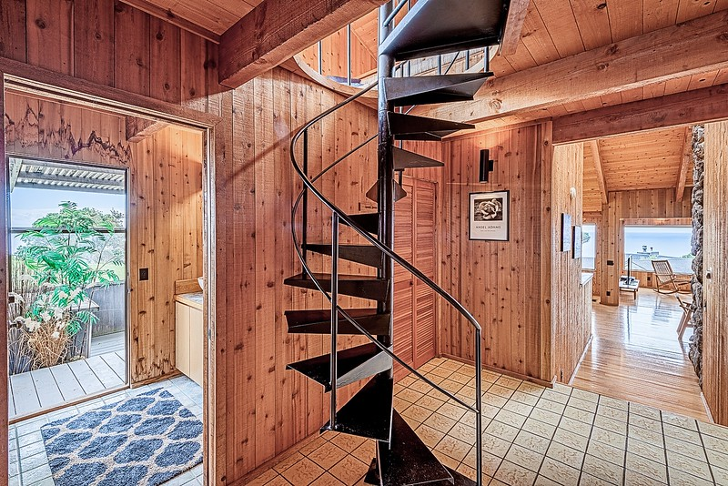 Entry and Stairs to Loft