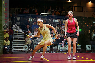 2012 U.S. Open Women's Quarterfinal: Nichol David (Malaysia) defeated Alison Waters (England)