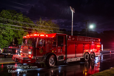 08/07/2019, MVC with Entrapment, Vineland City, Cumberland County NJ, S Main Rd, and S Lincoln Ave.