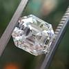 2.39ct Antique Asscher/Square Emerald Cut Diamond, GIA D/IF 9