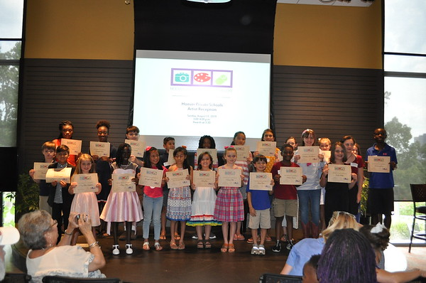 Hoover Private Schools Artist Reception - August 2019