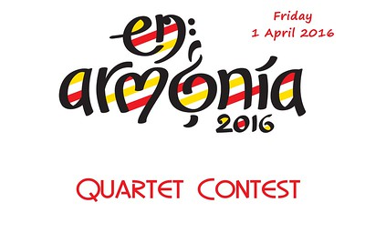2016-0401 SABS -Quartet Contest