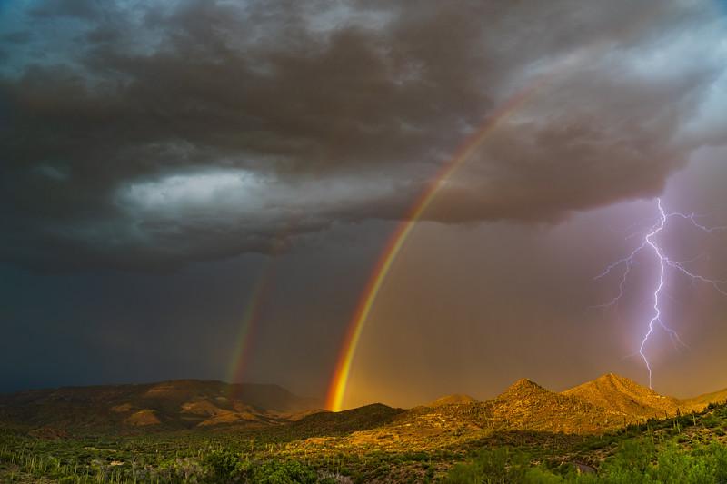 Starry Nights, Rainbows and Lightning
